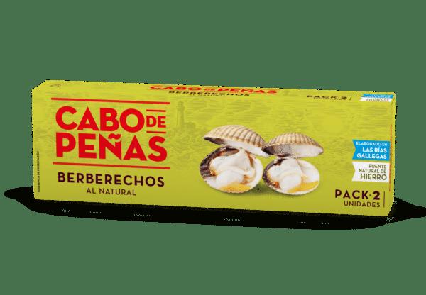 Berberecho al natural elaborado en las rías gallegas pack2 OL120