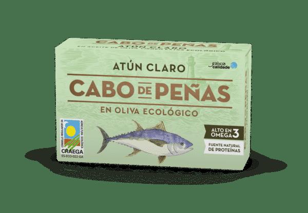 Atún Claro en aceite de oliva virgen extra ecológico OL-120