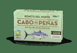 Bonito del norte en aceite de oliva virgen extra ecológico OL-120