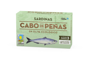 Sardinas en aceite de oliva virgen extra ecológico RR-125