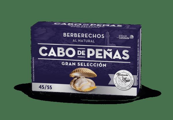 Berberechos de las Rías Gallegas al natural 45-55 OL-120
